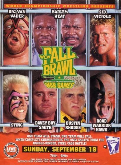 Post image of WCW Fall Brawl 1993
