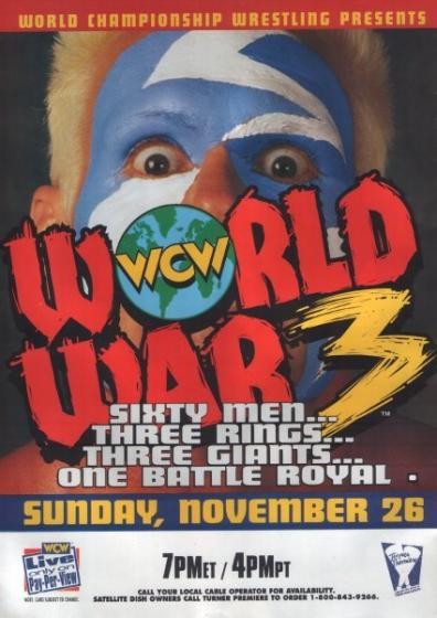WCW World War 3 95
