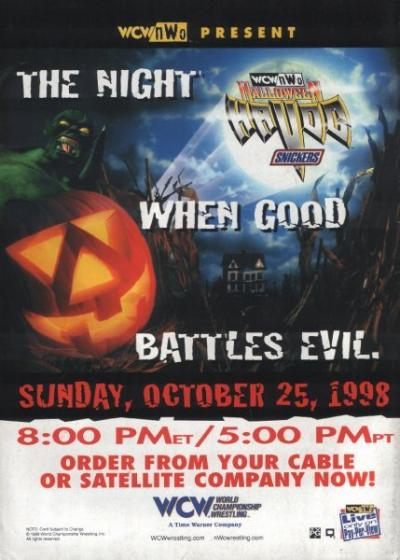 Image result for wcw halloween havoc 1998